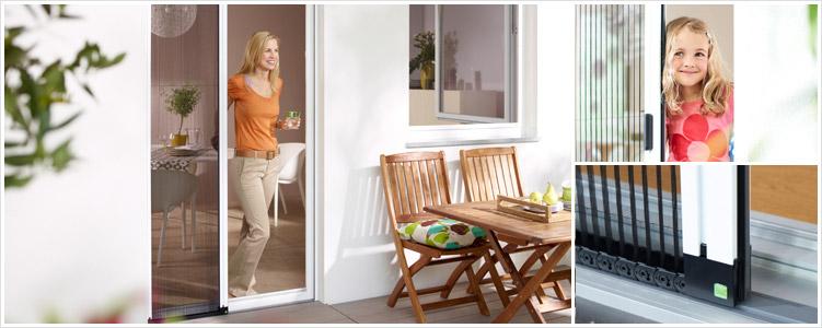 Insektenschutz für Türen - Plissee