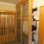 Schiebertür Garderobenschrank aus Massivholz Eiche_1